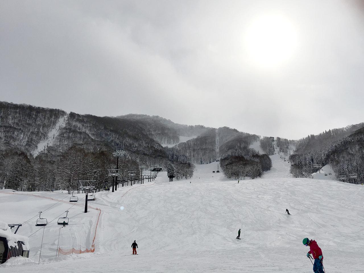 スキー場タングラム